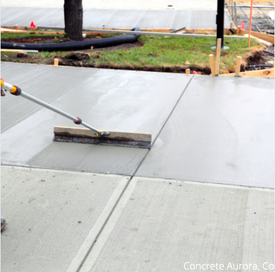 Concrete overlay in aurora co
